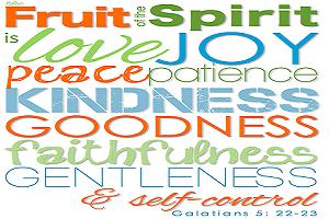 Fruits of the Spirit – week 4